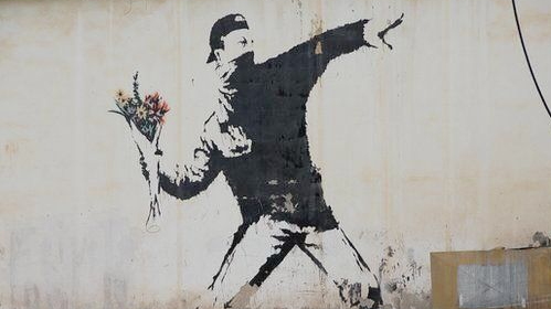 Copyright is for losers… yet it turns out to be the only IP right protecting Banksy's artwork