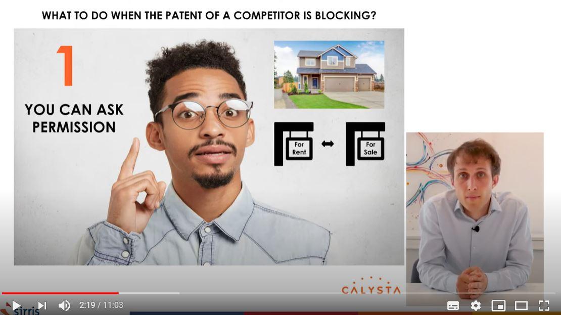 Wat te doen wanneer een patent van een concurrent jouw activiteit blokkeert ?